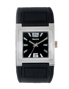 watches: Black Square Tomato Gents Watch!