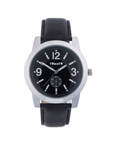 watches: Tomato Gents Black and Silver Watch!