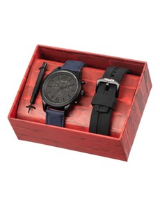 watches: Tomato Gents Watch with Exchangeable Black Strap!