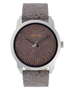 watches: Tomato Gents Brown PU Strap Watch !