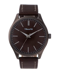 watches: Tomato Brown Dial and Strap Watch!