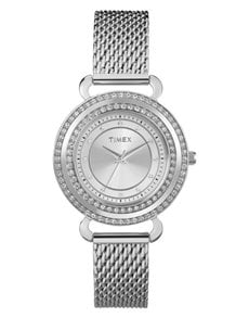 watches: Timex Premium Silver Classic Ladies Watch!