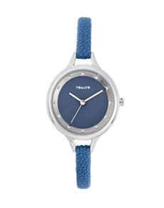 watches: Tomato Ladies Blue Stone Detail Watch!