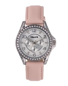 gifts: Tomato Ladies Watch with Nude Strap !