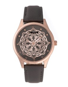 watches: Tomato Ladies Rose Gold Flower Dial Watch!