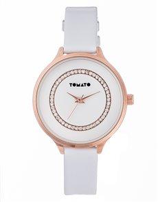 watches: Tomato Ladies White Dial Watch!