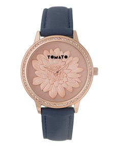 watches: Tomato Ladies Rose And Navy Watch!
