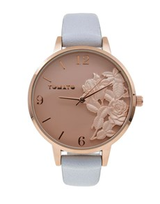 watches: Delicate 3D Flower Tomato Watch!