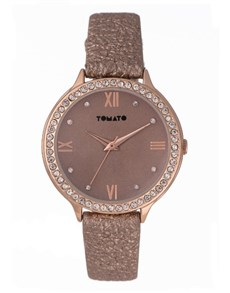watches: Tomato Ladies Ion Plated Rose Gold Watch!