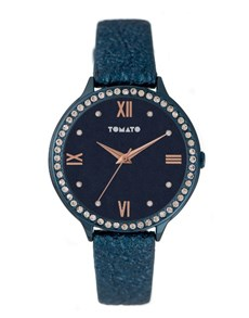 watches: Tomato Ladies Ion Plated Blue Watch!