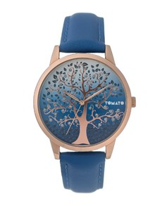 watches: Tomato Ladies Blue Tree Of Life Watch!