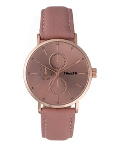 watches: Tomato Ladies Rose Gold Mulitdial Watch!