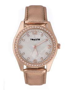 gifts: Tomato Ladies Everyday Rose Gold Watch!
