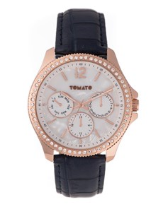 watches: Tomato Ladies Navy Mother Of Pearl Watch!