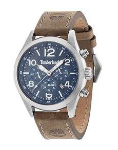 watches: Timberland Ashmont Stainless Steel Tan Watch!