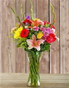 flowers: Bright Flower Vase!