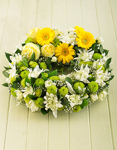 flowers: Wreath for a Funeral!