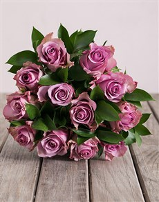 flowers: Lilac Rose Bouquet!