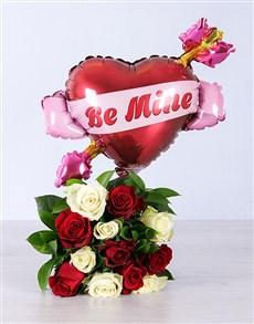 flowers: Be Mine Romance Bouquet!
