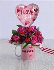 flowers: Love You Mug Arrangement!