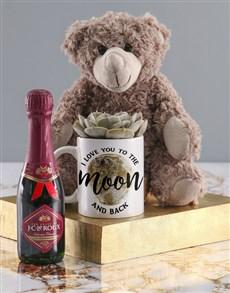 gifts: Valentine Love Moon Mug!