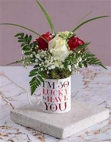 flowers: Lucky in Love Magic Rose Mug!