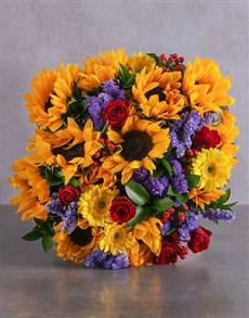 flowers: Golden Love Bouquet!