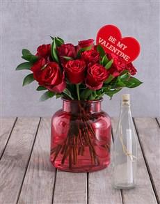 flowers: Poets Rose Arrangement!