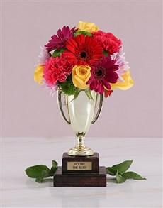 flowers: Floral Trophy Arrangement!