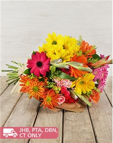 gifts: Mixed Bouquet of Bright Flowers!