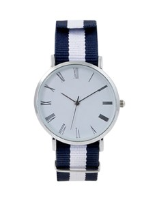gifts: Nylon Navy and Blue Watch!