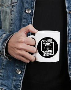 gifts: Personalised Dark Side Mug!
