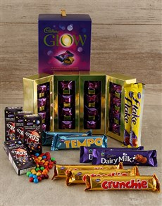gifts: Decadent Cadburys Chocolate Hamper!
