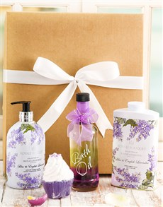 gifts: Lavender Love Bath and Body Hamper!