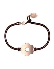 jewellery: Memi Flower Personalised Cord Bracelet!