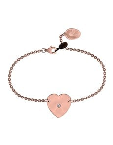 jewellery: Memi Diamond and Heart Personalised Bracelet!