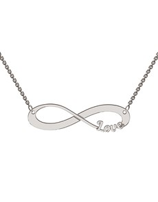 jewellery: Memi Infinity Love Personalised Necklace!