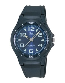 gifts: QQ Gents Blue and Black Analogue Watch!