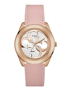 jewellery: Rose Gold G Twist Ladies Guess Watch!