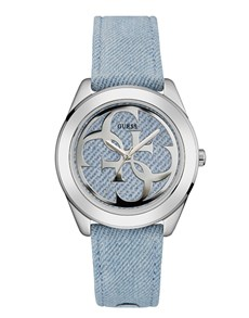 jewellery: Light Blue G Twist Ladies Guess Watch!