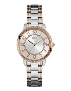 jewellery: Guess Kismet Rose and Silver Ladies Watch!