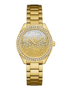 jewellery: Gold Glitter Girl Guess Watch!