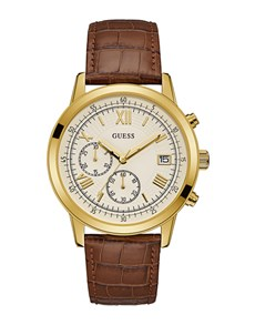 watches: Gents Cedar and Gold Summit Guess Watch!