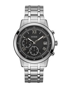 jewellery: Gents Black Summit Guess Watch!