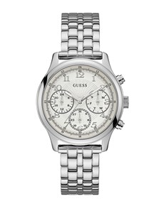 jewellery: Gents Silver Taylor Guess Watch!