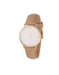 watches: Hallmark Ladies 36mm Gold Watch!