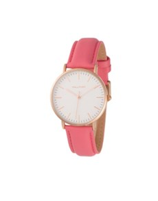 jewellery: Hallmark Ladies 36mm Rose Pink Watch!