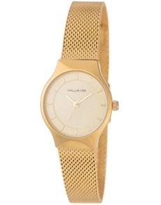 watches: Hallmark Ladies Gold Mesh Strap Watch!