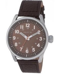 watches: Hallmark Gents Brown Dial Silver Watch!