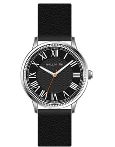 gifts: Hallmark Gents Black Dial With White Watch!